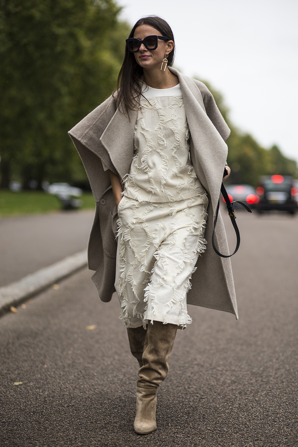 After Burberry Prorsum show – London