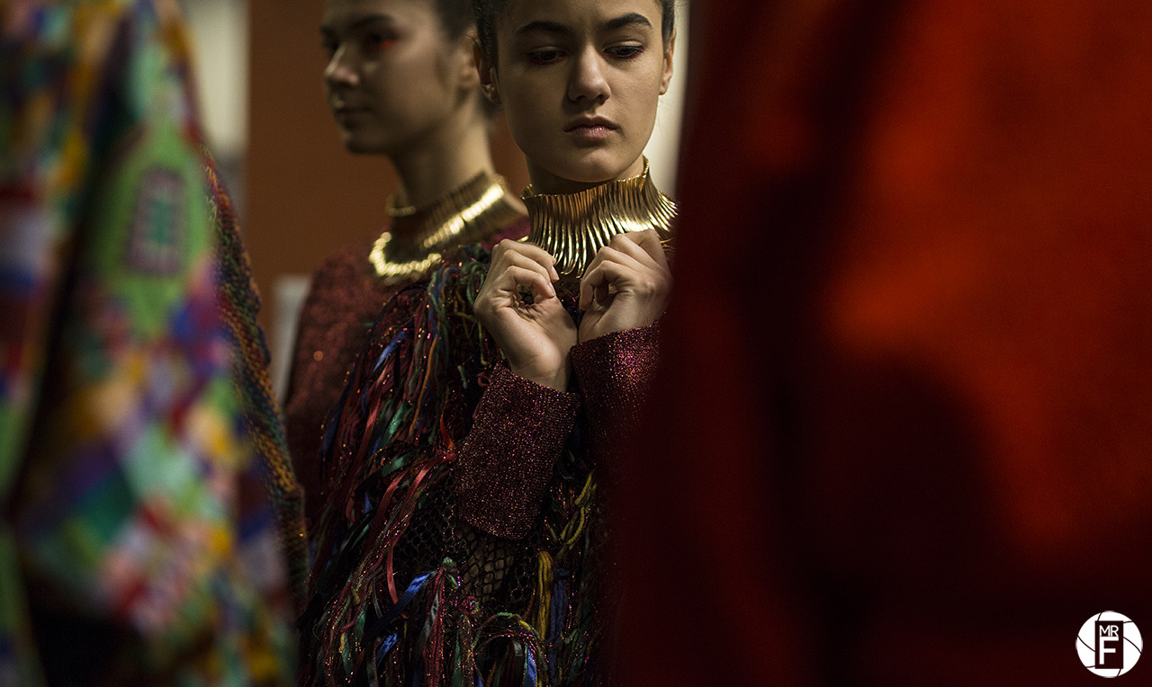 Backstage at Klaudia Markiewicz / Fashion Week Poland XIV