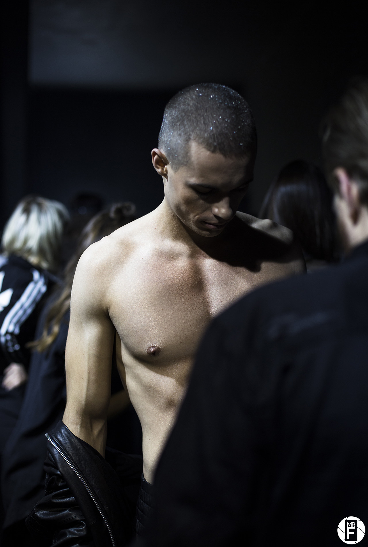 Backstage at Robert Kupisz AW 18/19